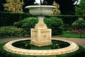 F-8 Architectural fountain