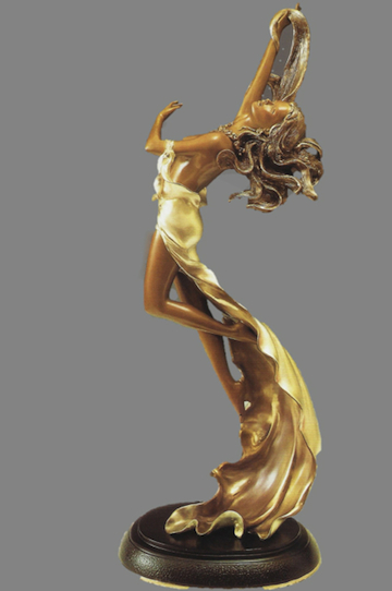 BZ-1 Bronze of Lady Dancing