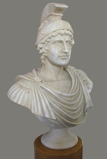 BT-10 Bust of Roman Soldier