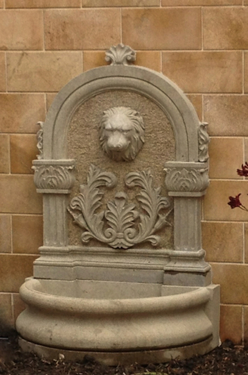 WF-15 Lion Head Wall Fountain