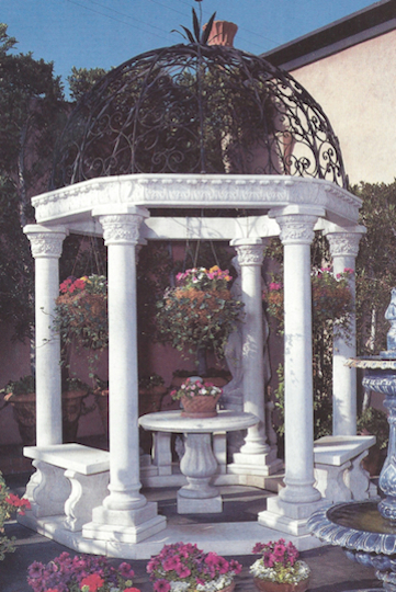 G-6 Gazebo with Classic Columns