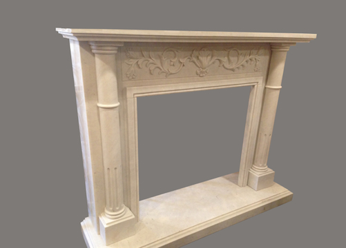 M-47 Fireplace Mantel