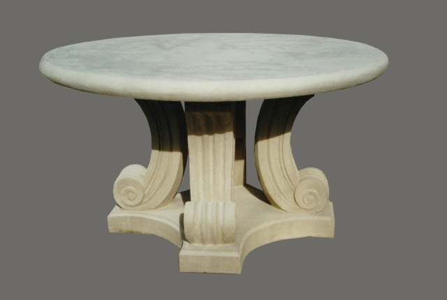 T-11 French Scroll Table