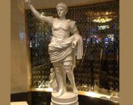 Sculpture design imports Caesars Palace Atlantic City Caesar