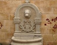 WF-15 Lion Head Wall Fountain sculpture design imports